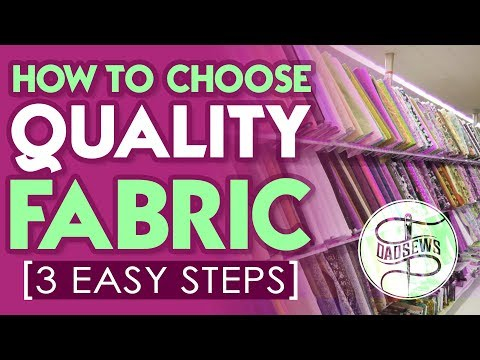 Quick and Easy Tips on Buying QUALITY FABRIC from Dad Sews