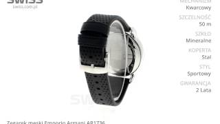 www swiss com pl zegarek męski emporio armani ar1736