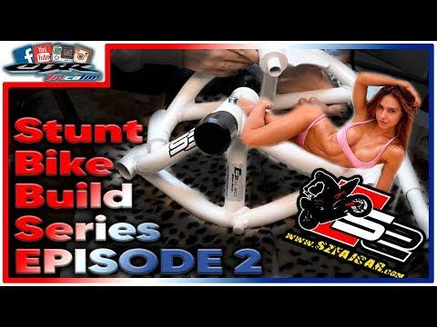 Stunt Bike Build Series   Episode 2   SZFAJCAR Shock Absorber Cage