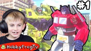 Transformers Devastation Part 1 on HobbyFrogTV