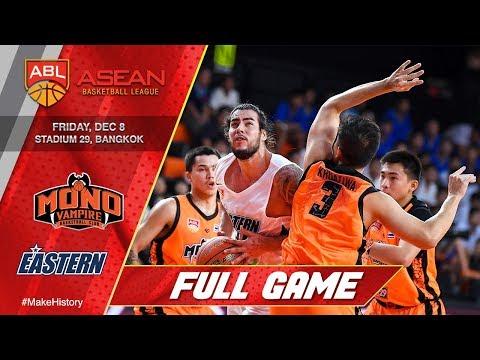 Mono Vampire vs. Hong Kong Eastern | FULL GAME | 2017-2018 ASEAN Basketball League