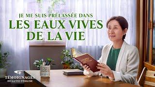 Témoignage chrétien en français 2020 « Je me suis prélassée dans les eaux vives de la vie »