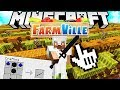 HILARIOUS ANIME MOD SWORD W/ TEWTIY - MINECRAFT MODDED FANTASY FARMING MINIGAME - FARMVILLE