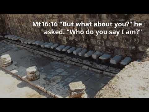 "2 Jesus said ""Who do you say I am"""