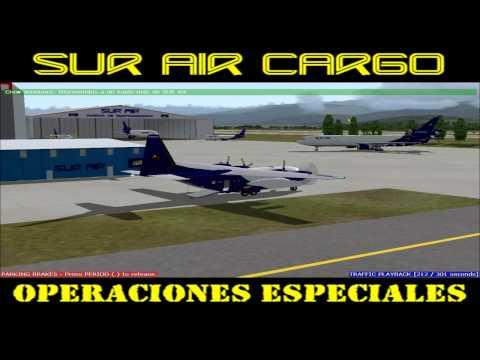 SUR Air Cargo Operaciones Especiales: 2010, el año que rugió la Tierra