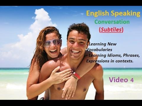 Practise Speaking English via real conversation P4