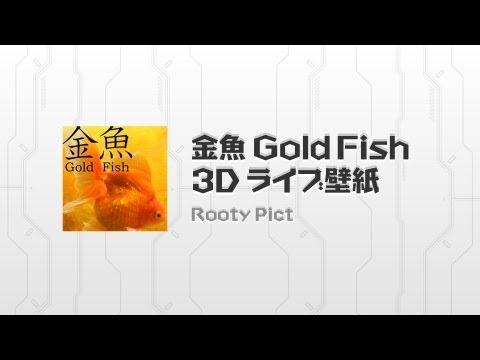 美しい金魚をホーム画面で鑑賞しよう! 金魚 3D ライブ壁紙
