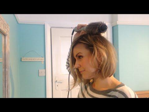 Quick + Easy Hair Tutorial Using Remington Hot Brush Long Bob | emforeverem