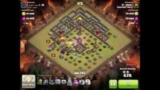 Clash of Clans Crucible Envy vs ****** - Glory vs **** Gowipe 3 Star