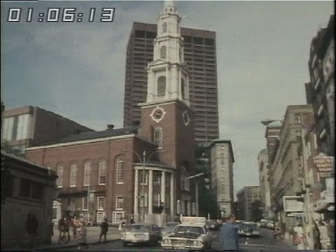 Boston - USA -  New England 1970's