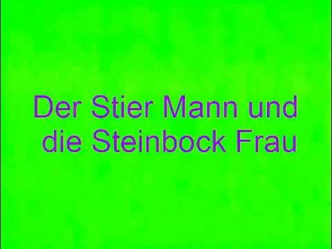 der stier mann und die steinbock frau youtube. Black Bedroom Furniture Sets. Home Design Ideas