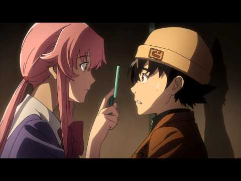 The Future Diary Clip - Keeping Tabs