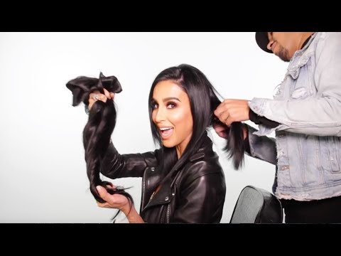 All about lilly hair clip in extensions how to apply and blend all about lilly hair clip in extensions how to apply and blend hair extensions with short hair pmusecretfo Choice Image