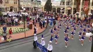 JesuitNOLA: Blue Jay Marching Band and Jayettes, Walt Disney World 2015