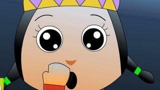 Ten Little Indians Nursery Rhymes - Cartoon Animation Songs For Children