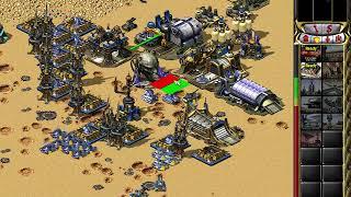 C&C Red Alert 2 Megapack Challenge 1v7 - Desert Showdown - Yuri