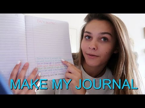 5 BELOW SHOPPING HAUL! EMMA SHOWS YOU HOW TO MAKE A  PERSONAL JOURNAL!