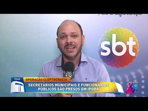 Secretário municipais são presos em Iporã - Tribuna da Massa (02/10/19)