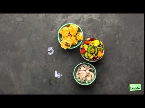 Take 5: garnalen groentepappardelle & tomatensaus - Allerhande