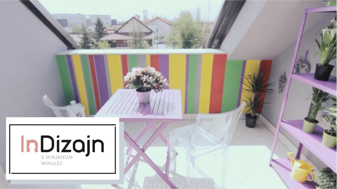 Makeover Balkon i terasa - YouTube