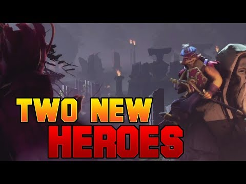 Dota 2 Two New Heroes  The Dueling Fates Update