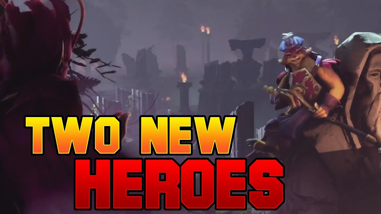 dota 2 two new heroes the dueling fates update youtube