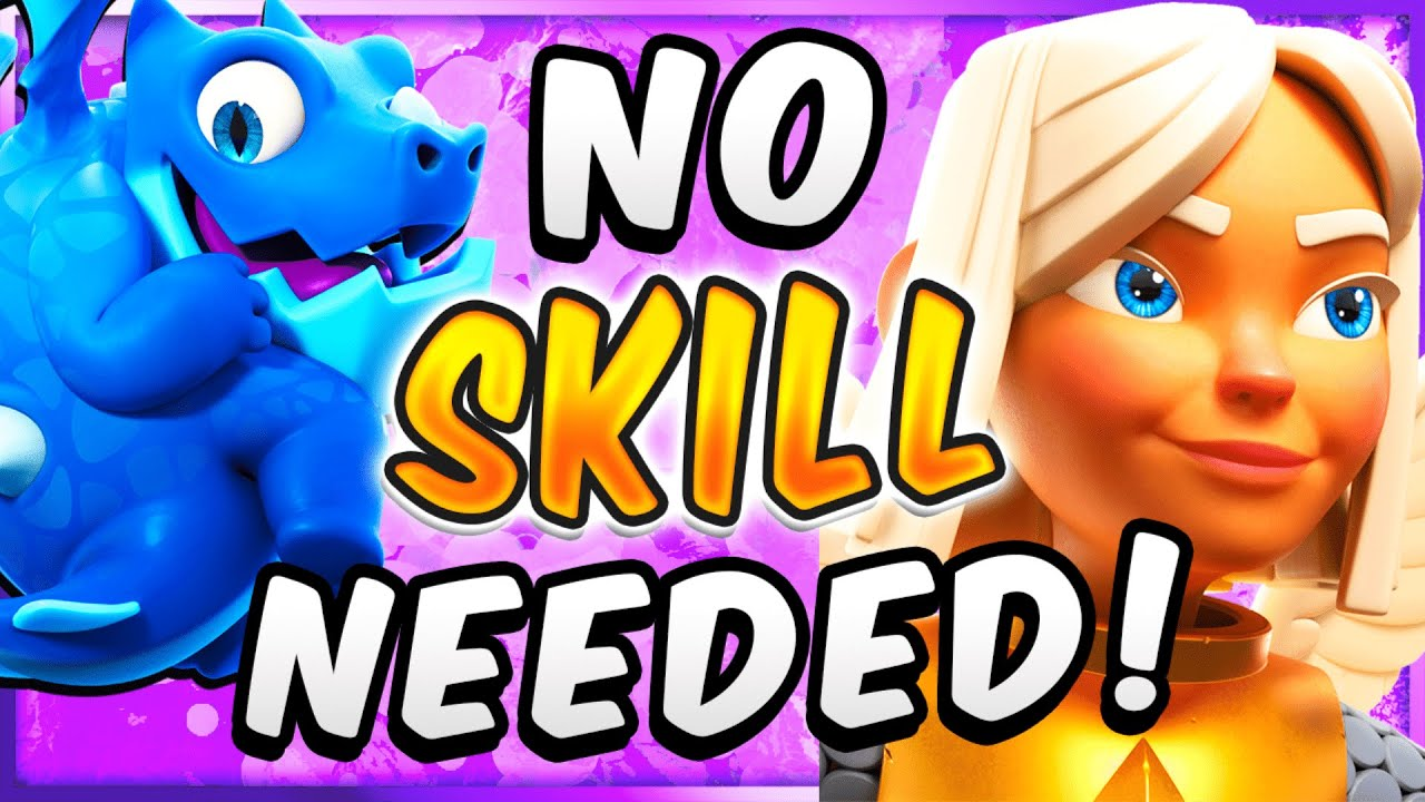 IT'S TOO TOXIC! EASIEST DECK IN CLASH ROYALE RIGHT NOW!