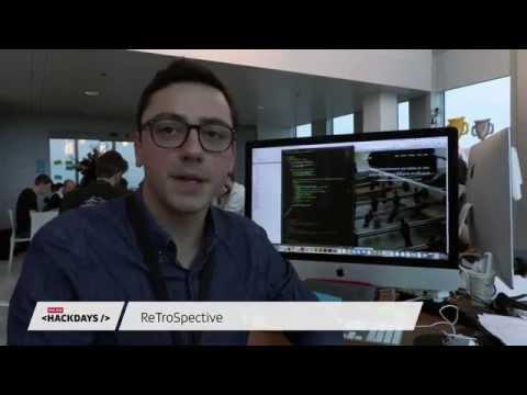 ReTroSpective - Idea Presentation - SRG SSR Hackdays 2015 (1/9)