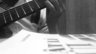 Ru em từng ngón xuân nồng guitar solo
