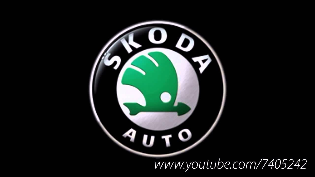 обои новый логотип skoda