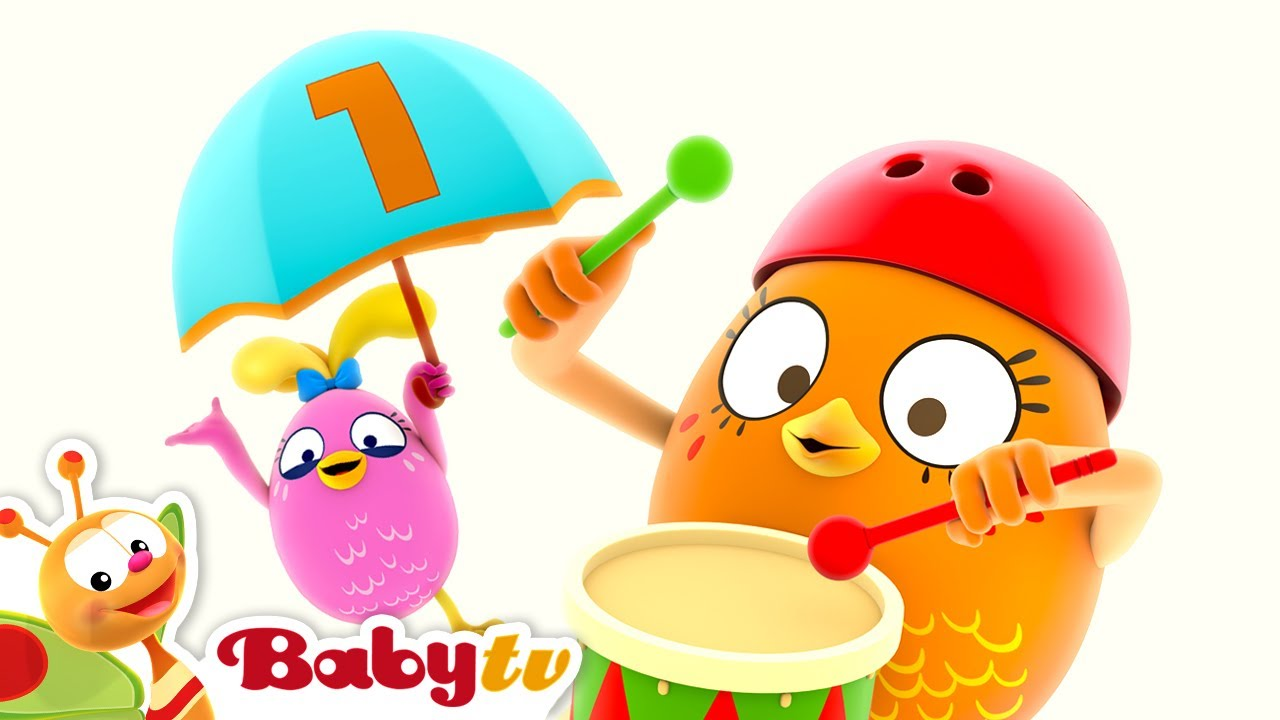 Egg Band - lagu baru   BabyTV Bahasa Indonesia