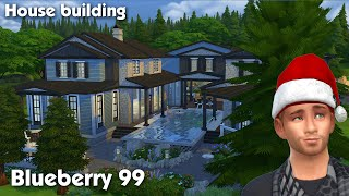 The Sims 4: House Building - Blueberry 99