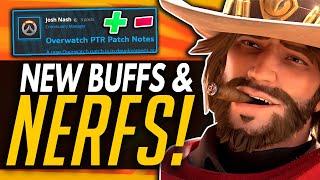 Overwatch | New Buffs & Nerfs - Major McCree, Orisa & Sigma Changes!