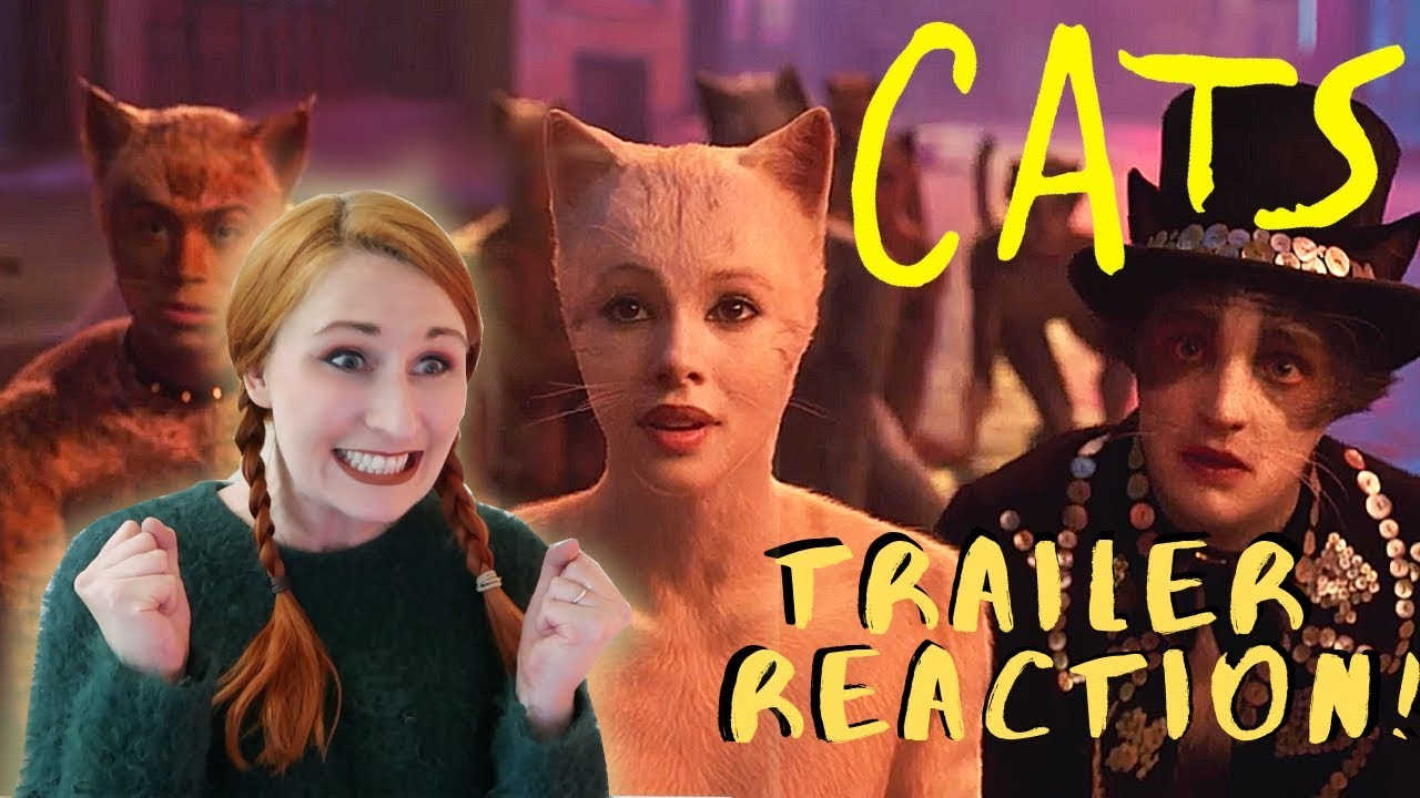 CATS 2019 , Official trailer reaction