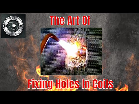 HVAC Training - The Art Of Fixing Holes In Coils