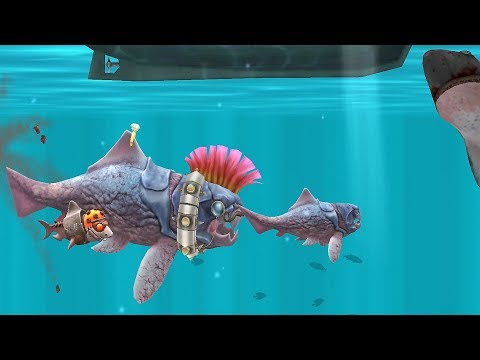 Hungry Shark Evolution: BIG DADDY (DUNKLEOSTEUS)  #12