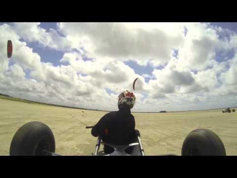 Kite Buggy with GoPro Fanø (Summer 2015) | Alan Walker - Fade