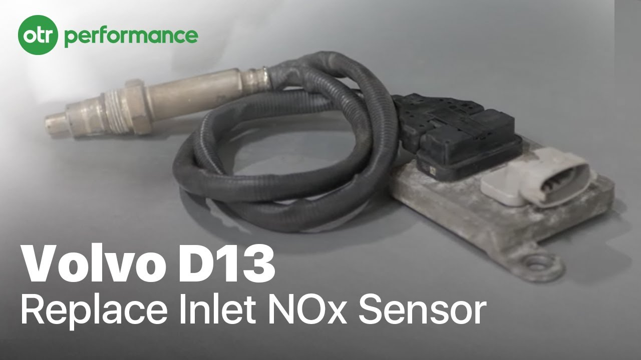 Replace Inlet NOx Sensor on Volvo D13 and Mack MP8 Engine