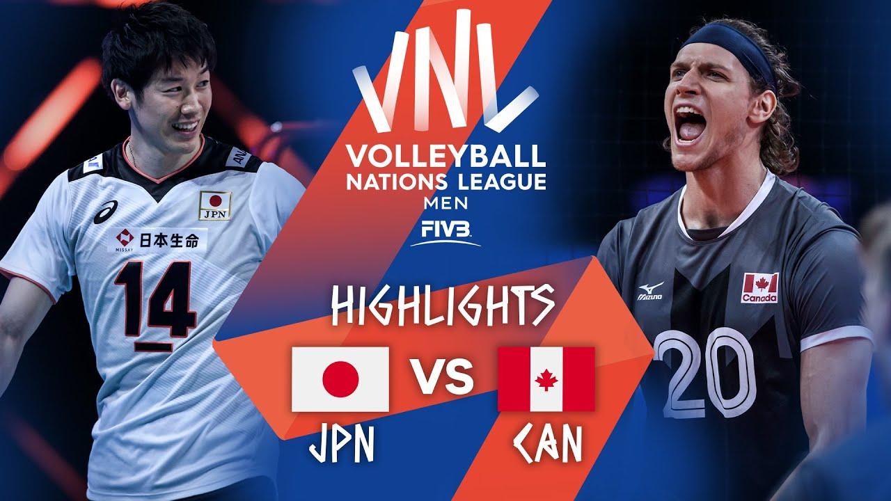 Download JPN vs. CAN - Highlights Week 4 | Men's VNL 2021