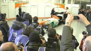 フォース・インディア VJM06 新車発表会