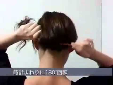 Закалываем волосы палочкой для волос