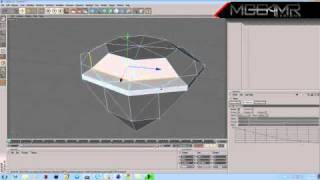 How to Make a Diamond in Cinema 4D