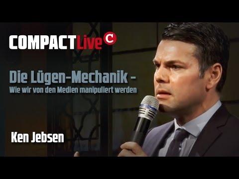 Die Lügen-Mechanik - Wie wir von den Medien manipuliert werden - COMPACT Live mit Ken Jebsen