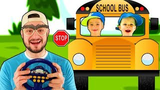 Wheels on the Bus Song #1 | Mirik Yarik Nursery Rhymes & Kids Songs