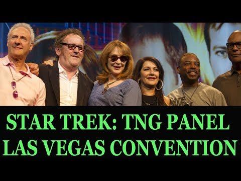 Star Trek: TNG Reunion Panel - Vegas 2012 - Jonathan Frakes, Brent Spiner, Michael Dorn