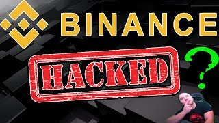 BINANCE HACKED? - Security Analyst Review