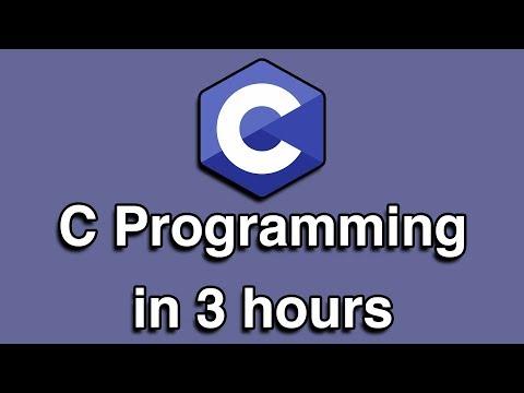 C Programming Crash Course thumbnail