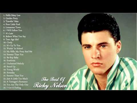 Ricky Nelson Greatest Hits | Ricky Nelson Playlist 2016