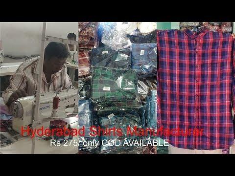 Shirts Manufacturer Hyderabad