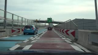 4K 海老名JCT(内回り) 圏央道→東名 暫定2車線化後
